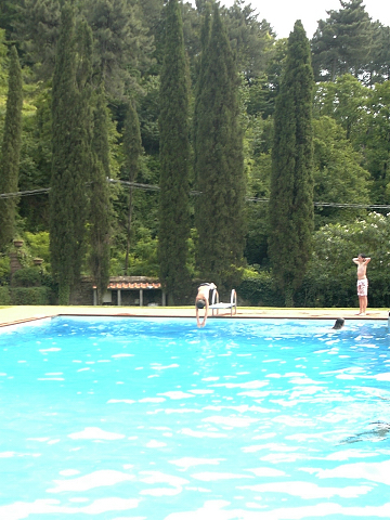 B&B Villa Montecatini : Piscina -